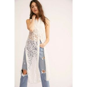 New Free People True To You Maxi Top $168 SMALL